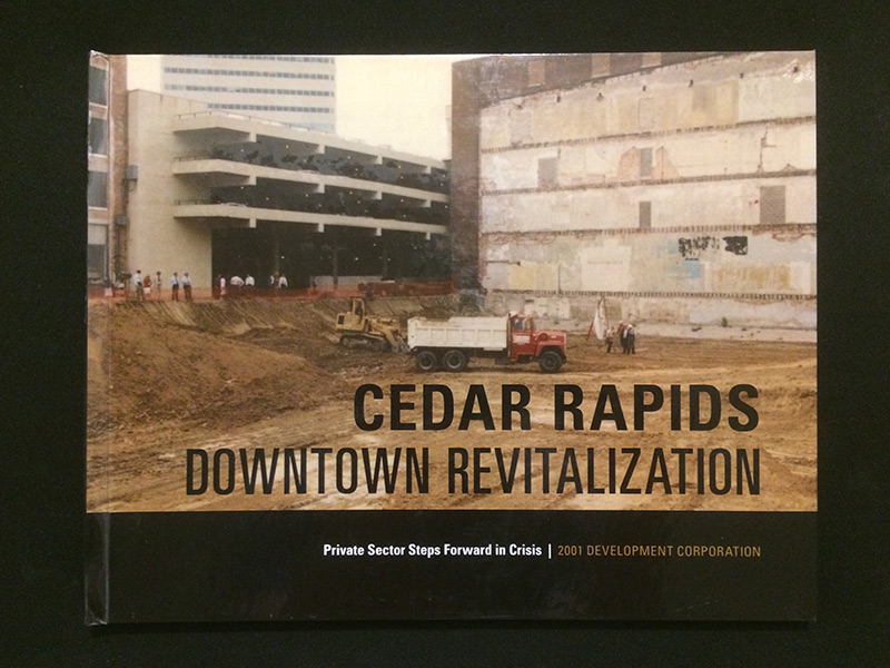CR Downtown Revitalization book