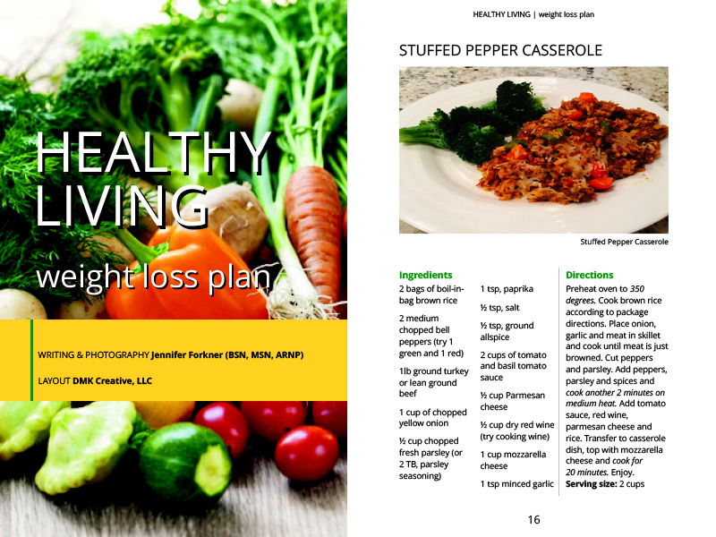 Healthy Living booklet